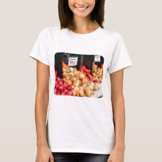 Cebollas y patatas playera