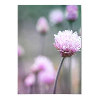 """Cebolletas que florecen IV Invitación 5"""" X 7"""""""
