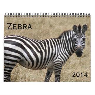 cebra 2014 calendarios