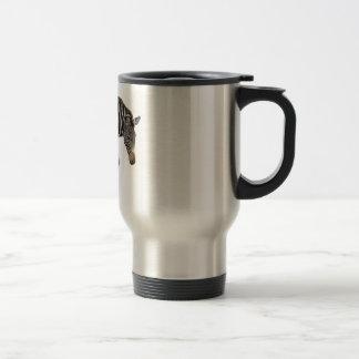 Cebra aislada de Grevy Taza De Café