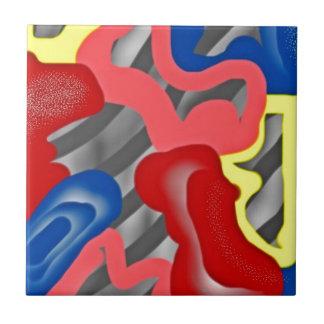 cebra azulejo cuadrado pequeño