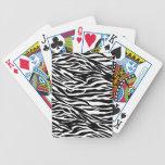 cebra baraja cartas de poker