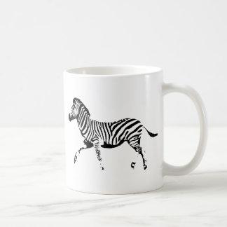 Cebra corriente taza de café