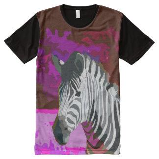 Cebra de neón rosada y púrpura