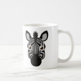 Cebra de papel taza de café