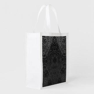 Cebra de plata negra bolsa para la compra