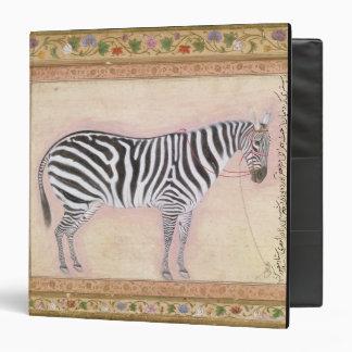 "Cebra, del ""álbum de Minto"", 1621 (aguazo en el PA Carpeta 1 1/2"""