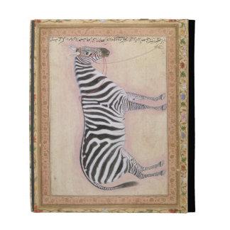 """Cebra, del """"álbum de Minto"""", 1621 (aguazo en el PA"""