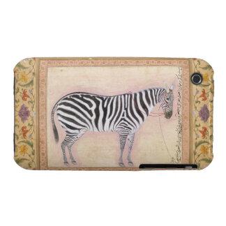 """Cebra, del """"álbum de Minto"""", 1621 (aguazo en el PA iPhone 3 Cárcasas"""