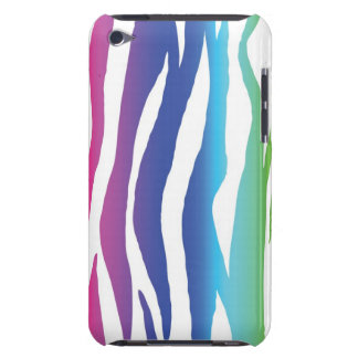 Cebra del arco iris funda para iPod