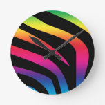 Cebra del arco iris relojes