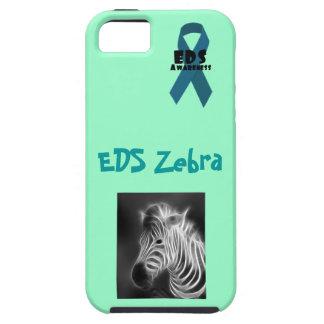 Cebra del EDS con la cinta de la conciencia del Funda Para iPhone 5 Tough