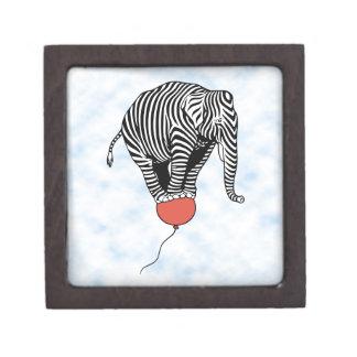 Cebra del elefante del vuelo caja de regalo de calidad