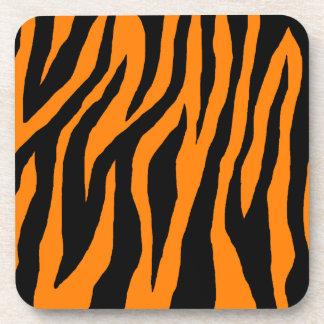 Cebra del tigre de la MOD Posavasos
