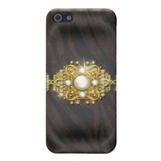 Cebra del Victorian del vintage iPhone 5 Coberturas