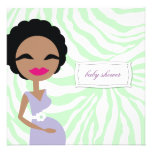 cebra embarazada de la mamá 311-Sweet - étnica Comunicado Personalizado