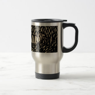 Cebra en camuflaje tazas de café