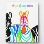 Cebra en color