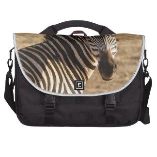 Cebra en la sabana bolsa de ordenador