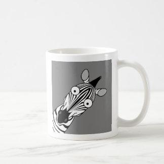 CEBRA FELIZ TAZA DE CAFÉ