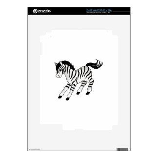 Cebra iPad 2 Calcomanía