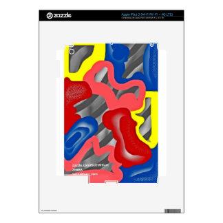 cebra iPad 3 pegatinas skins