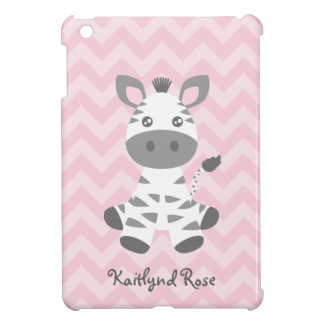 Cebra linda del bebé iPad mini protector