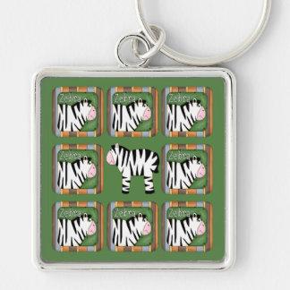 Cebra Llaveros Personalizados