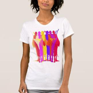 Cebra Massais Camisetas