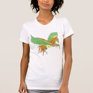 cebra Pegaso Camiseta