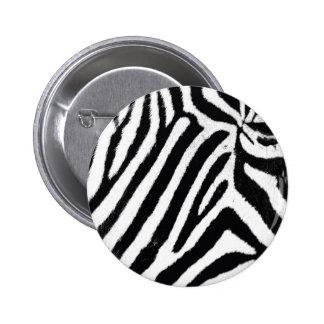 Cebra Pin Redondo De 2 Pulgadas