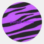 cebra púrpura, cebra púrpura pegatinas