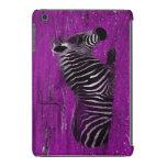 Cebra púrpura funda de iPad mini