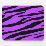 cebra púrpura tapetes de ratón