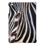 Cebra rayada blanco y negro iPad mini carcasas