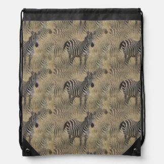 Cebra rayada mochila