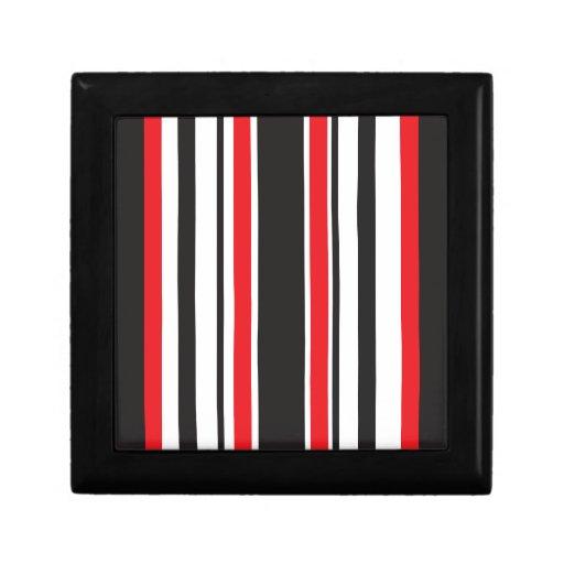 Cebra roja caja de joyas