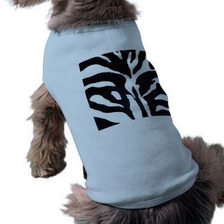 Cebra Camisetas De Perro