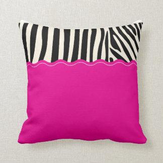 Cebra soñadora almohadas