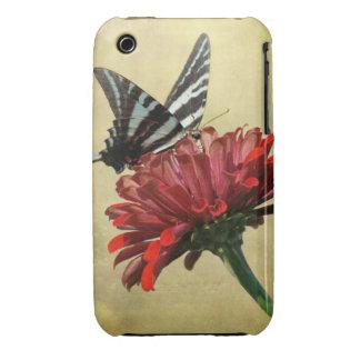 Cebra Swallowtail iPhone 3 Fundas