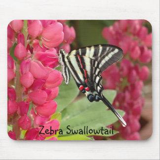 Cebra Swallowtail Alfombrilla De Ratones
