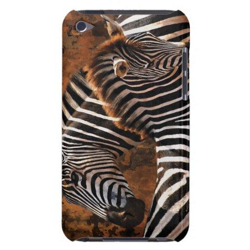 Cebra y madre del bebé iPod touch Case-Mate carcasa