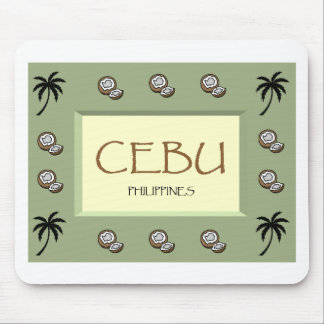 CEBÚ Filipinas Mousepad