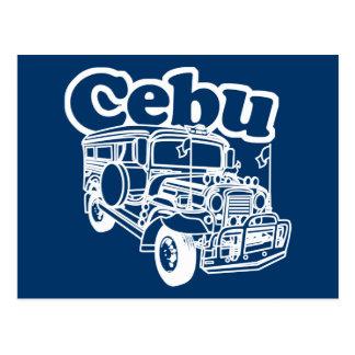 Cebu Jeepney Postcard