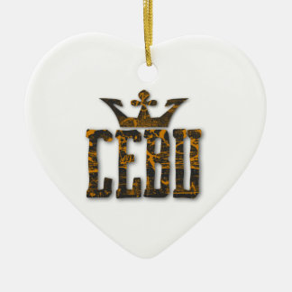 Cebu Royalty Ceramic Ornament