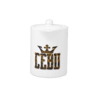 Cebu Royalty Teapot