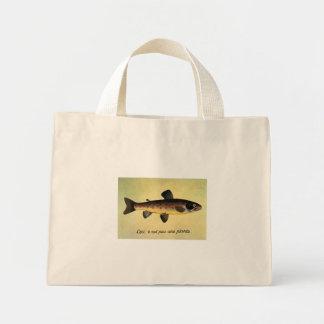 """""""Ceci n'est pas une plante."""" Fish Mini Tote Bag"""