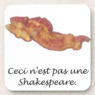 Ceci n'est pas une Shakespeare Drink Coaster