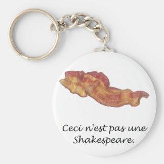 Ceci n'est pas une Shakespeare Key Chain