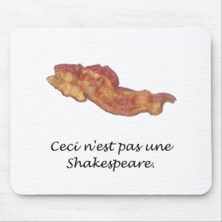 Ceci n'est pas une Shakespeare Mouse Pads